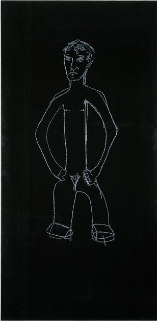 Stephan Balkenhol, Zeichnung