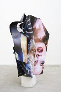 Olaf Metzel, Skulptur, Aluminium