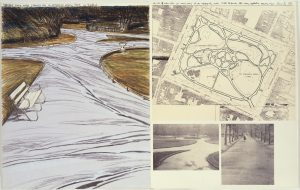 Christo, Edition, Lithographie