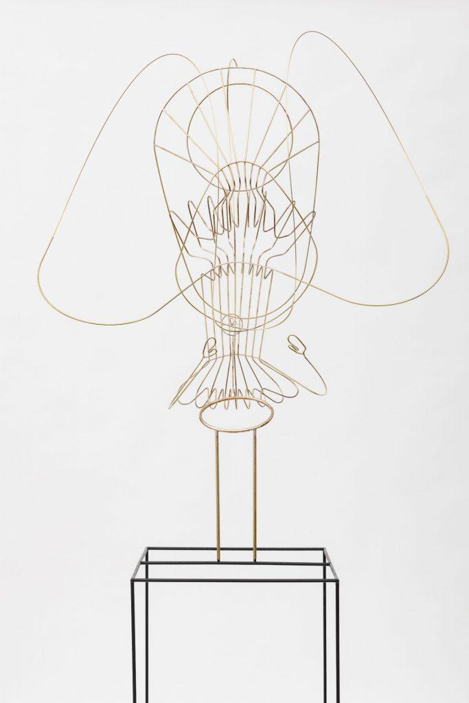 Constantin Luser, Skulptur, Messing, Kunst