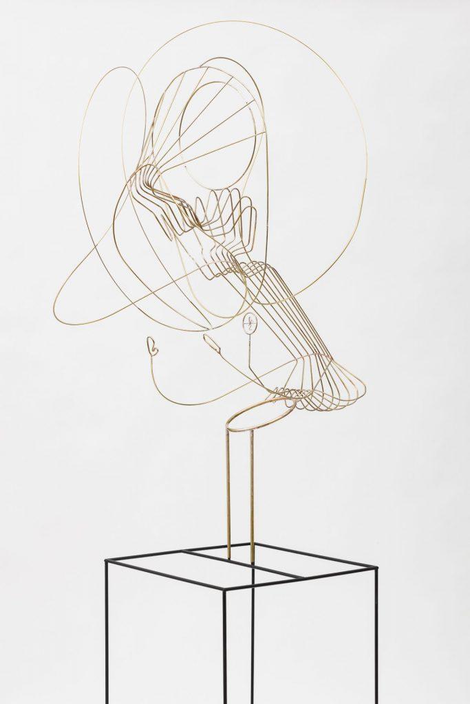 Constantin Luser, Skulptur, Kunst, Messing