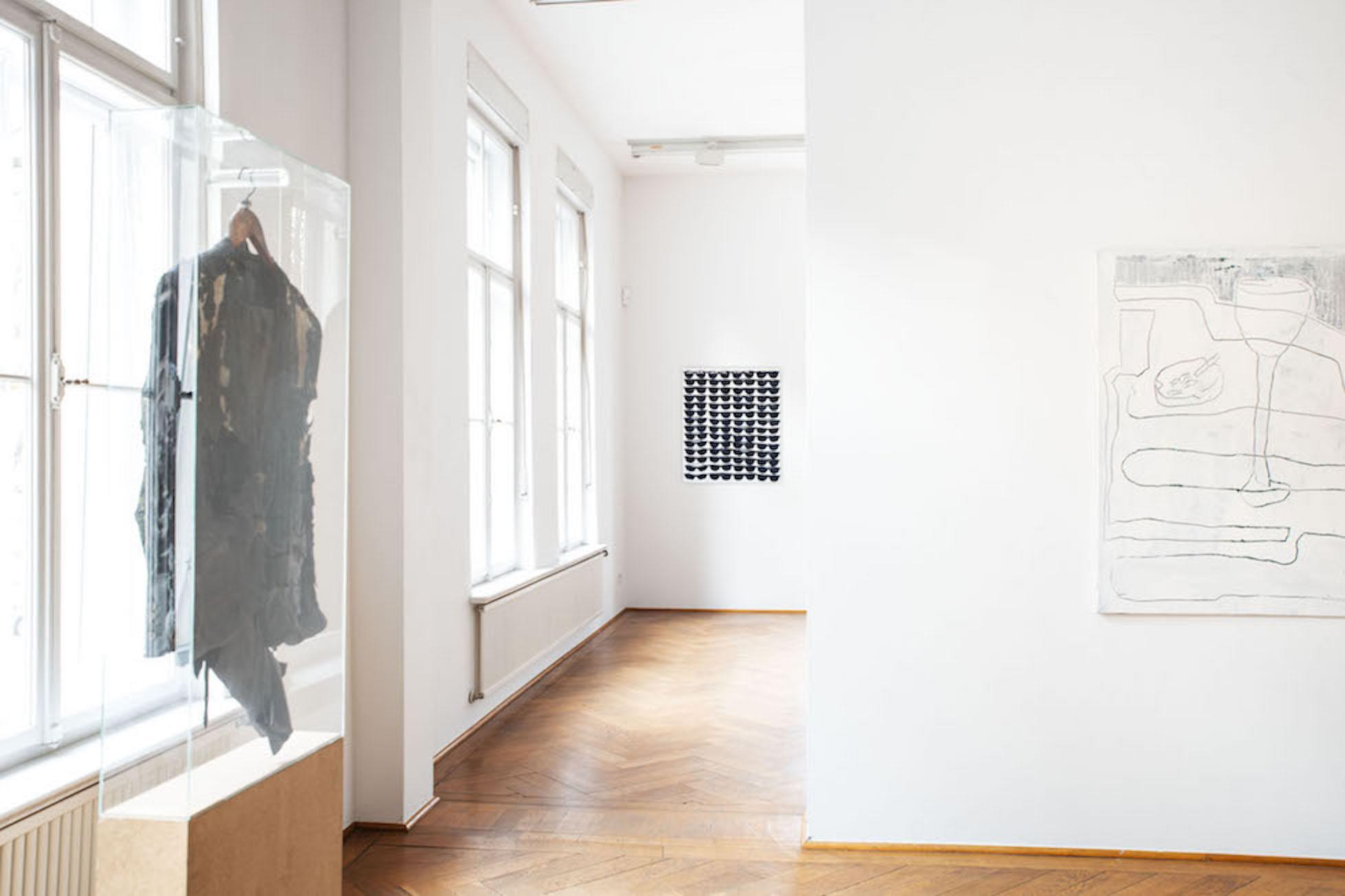 Installation view Klasse Gregor Hildebrandt