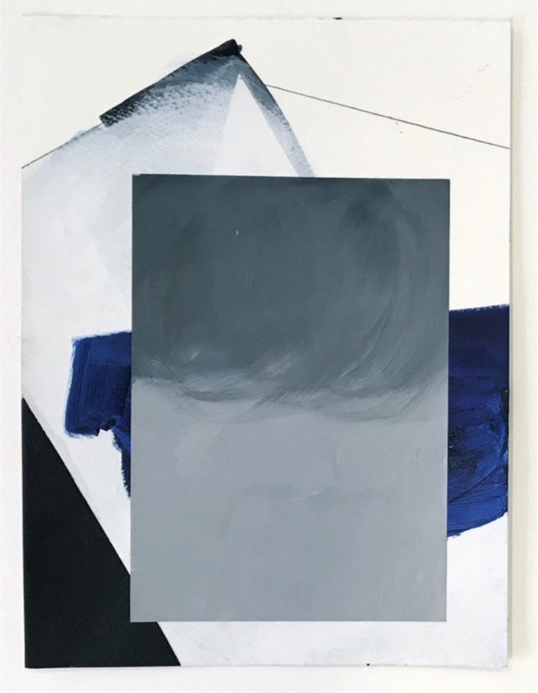 Natalia Zaluska, Untitled, Öl, Acryl, Bleistift, Kunst