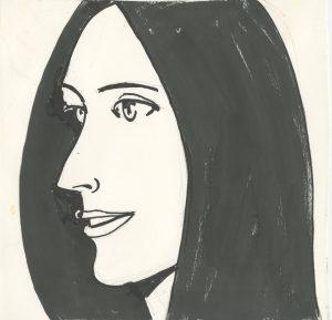 Alex Katz, Papierarbeit