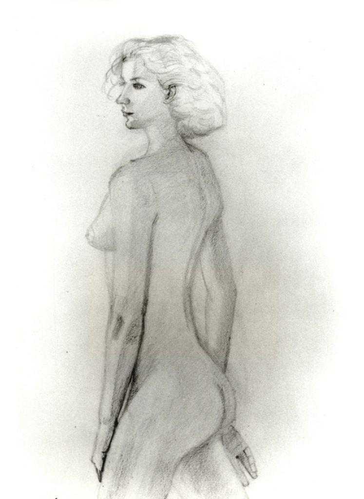 Alex Katz, paperwork, drawing