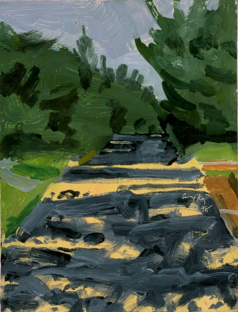 Alex Katz, Gemälde, Original