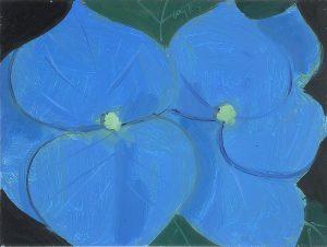 Alex Katz, Gemälde, Unikat