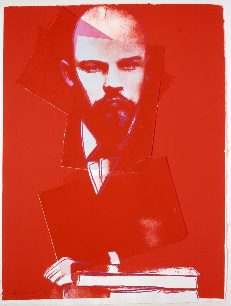 Andy Warhol, artwork, collage, unique