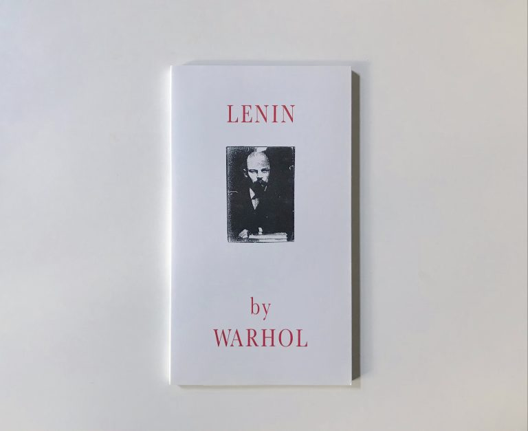Andy Warhol, Catalogue, Lenin