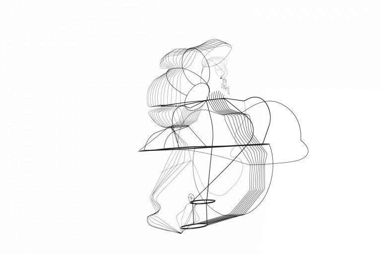 Constantin Luser, sculpture, brass