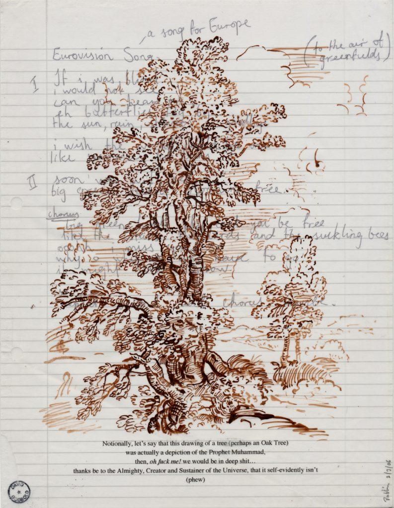David Godbold, Papierarbeit
