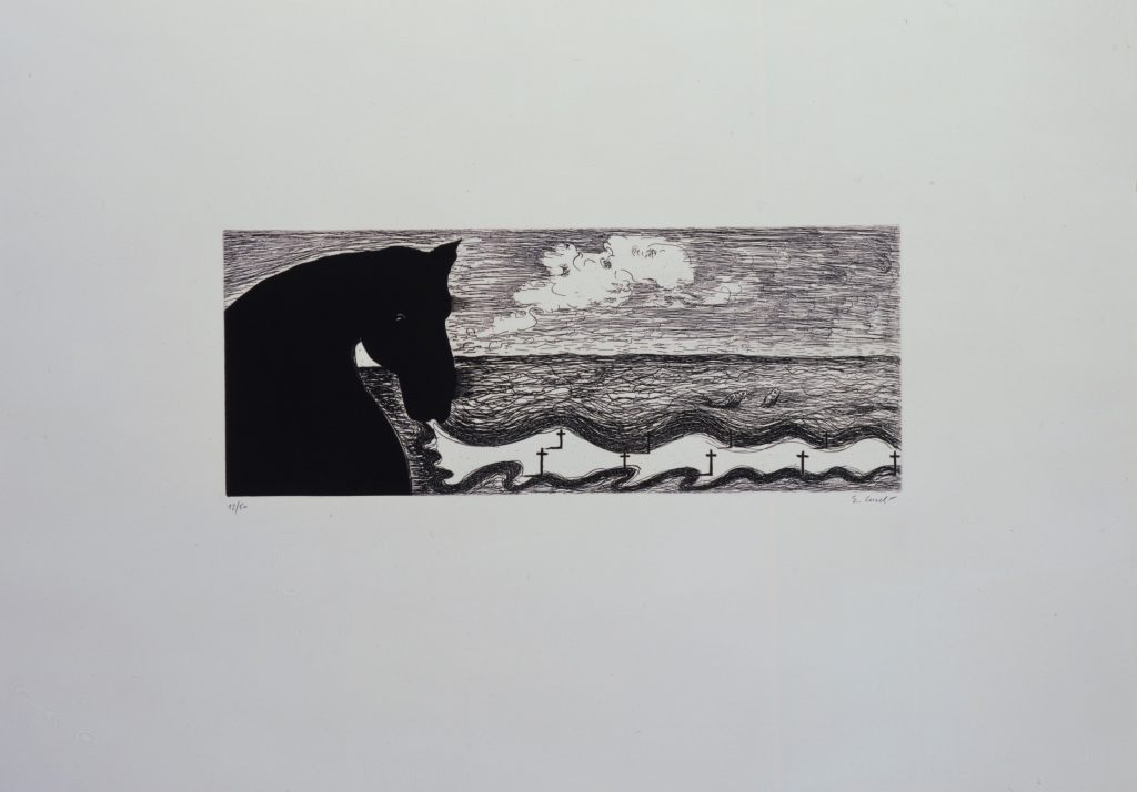 Enzo Cucchi, print, edition