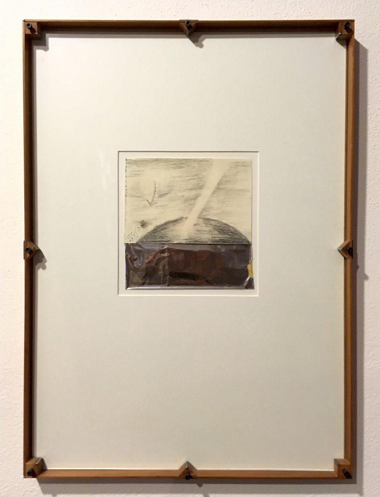 Enzo Cucchi, Kunstwerk in Künstlerrahmen
