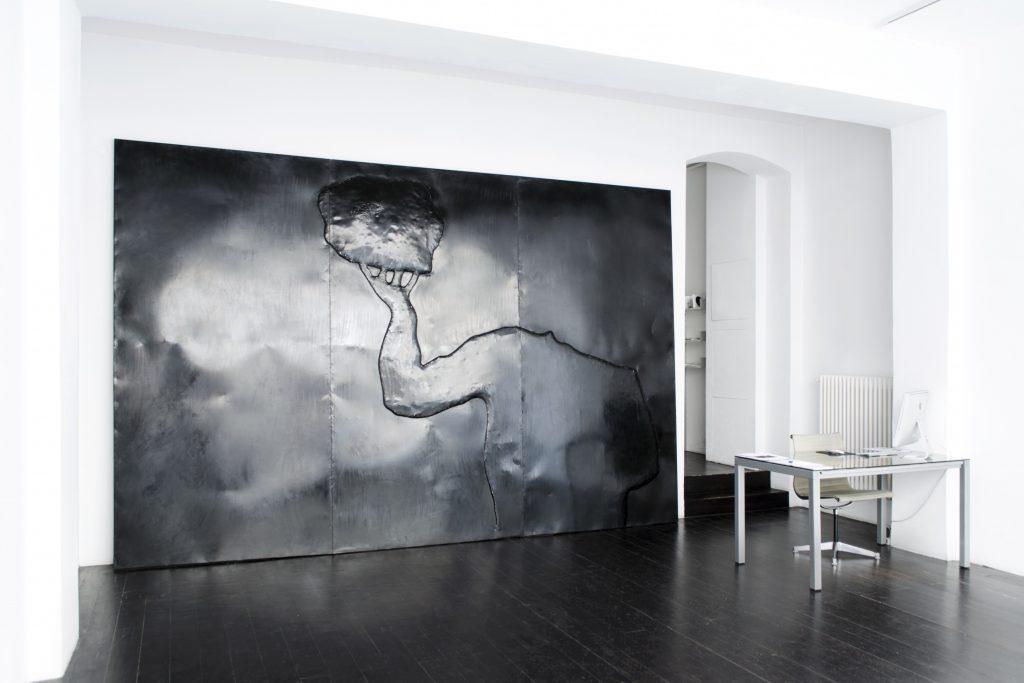 Enzo Chucchi, Installationsansicht