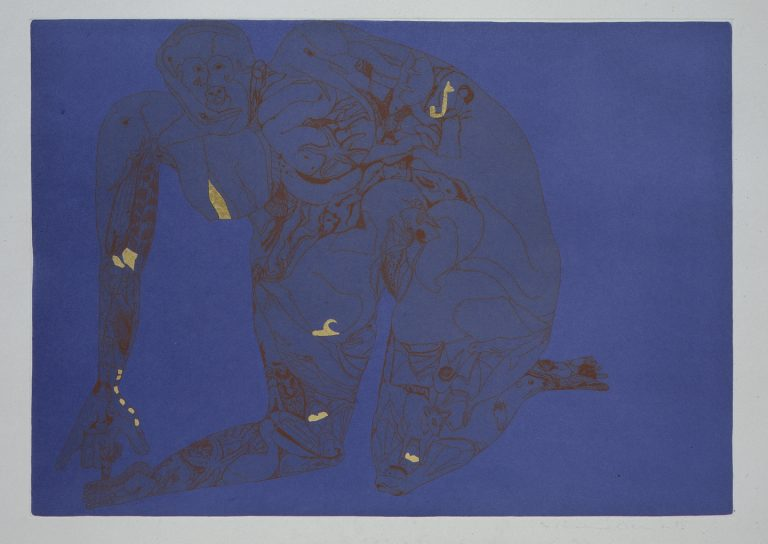 Francesco Clemente, edition, print