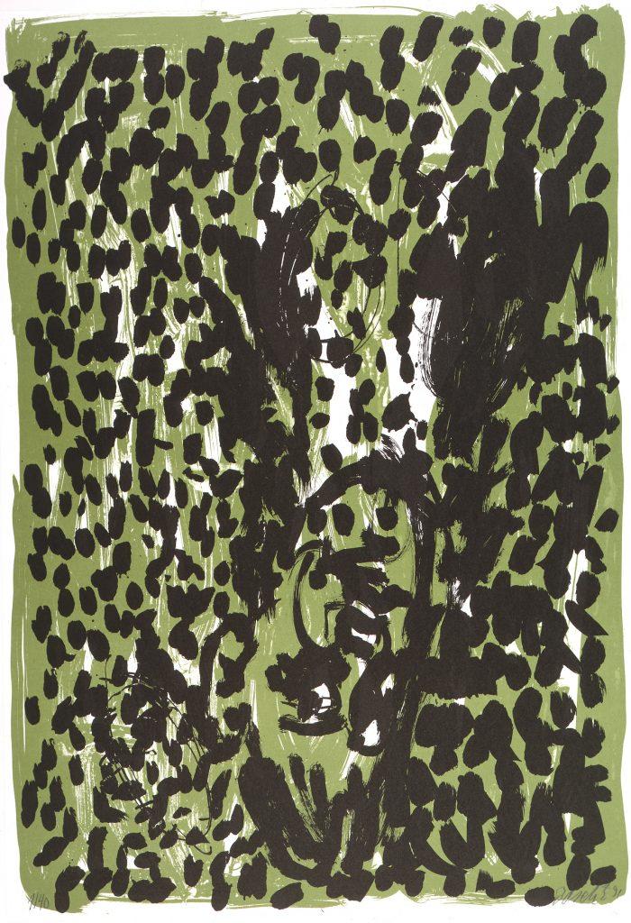 Georg Baselitz, Grafik