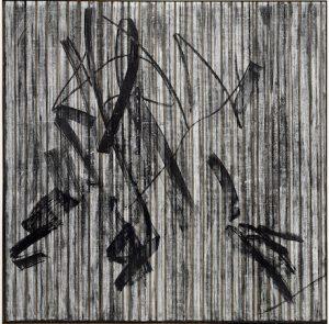 Gregor Hildebrant, Leinwand, Unikat, VHS, Videoband, Gemälde