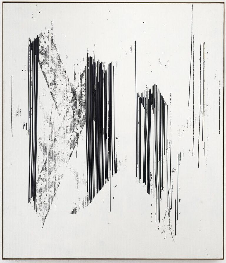 Gregor Hildebrandt, Leinwand, Unikat, Gemälde, VHS, Kassettenband, Videoband