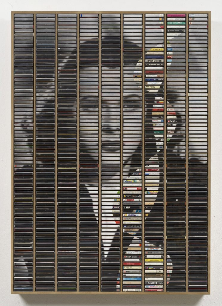 Gregor Hildebrandt, Kassetten, Kunstwerk