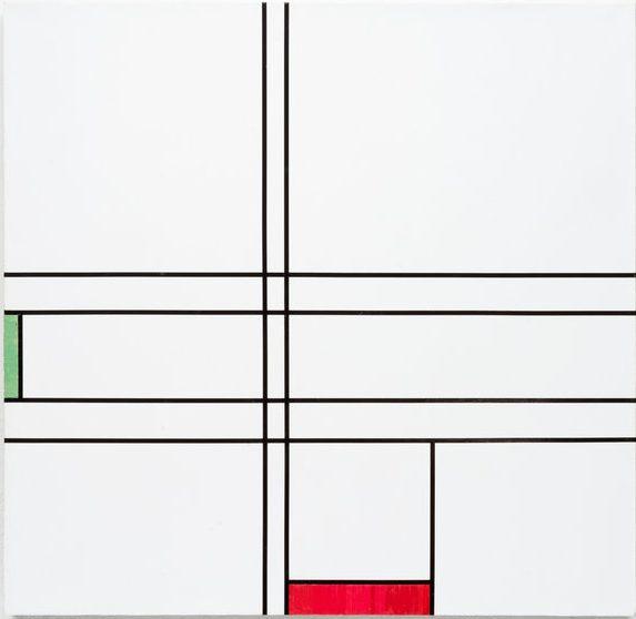 Gregor Hildebrandt, Leinwand, Unikat, Kassettenband