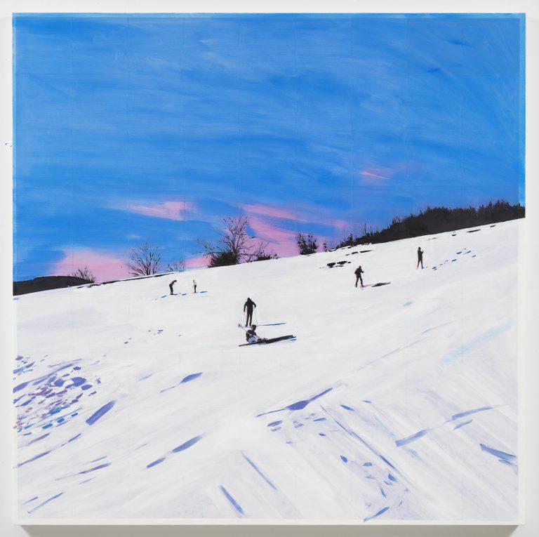 Isca Greenfield-Sanders, Gemälde, Leinwand