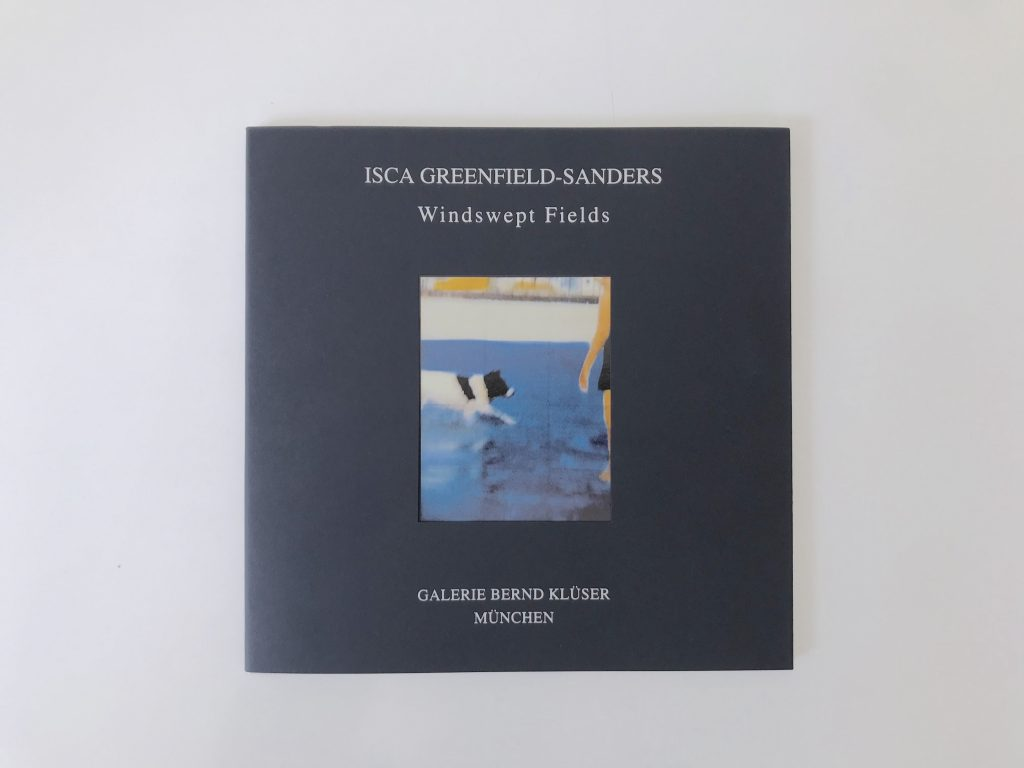Isca Greeenfield-Sanders, Katalaog