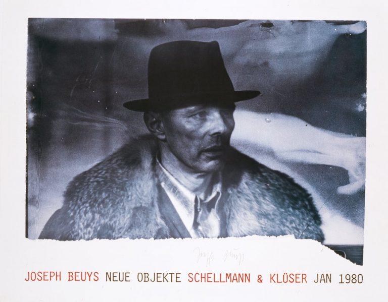 Joseph Beuys Poster signiert