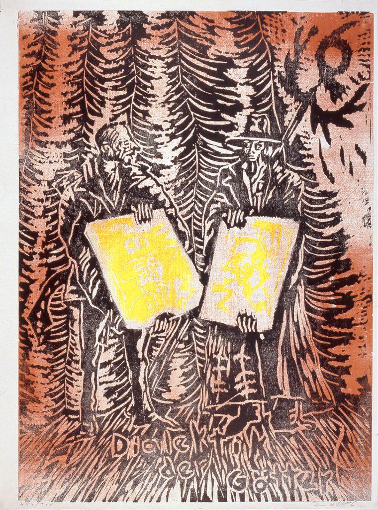 Jörg Immendorff, print