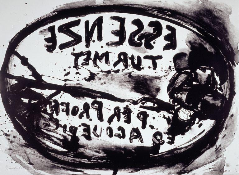 Jannis Kounellis, print, edition