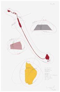 Jorinde Voigt, Kunstwerk, Original, Unikat, Papierarbeit