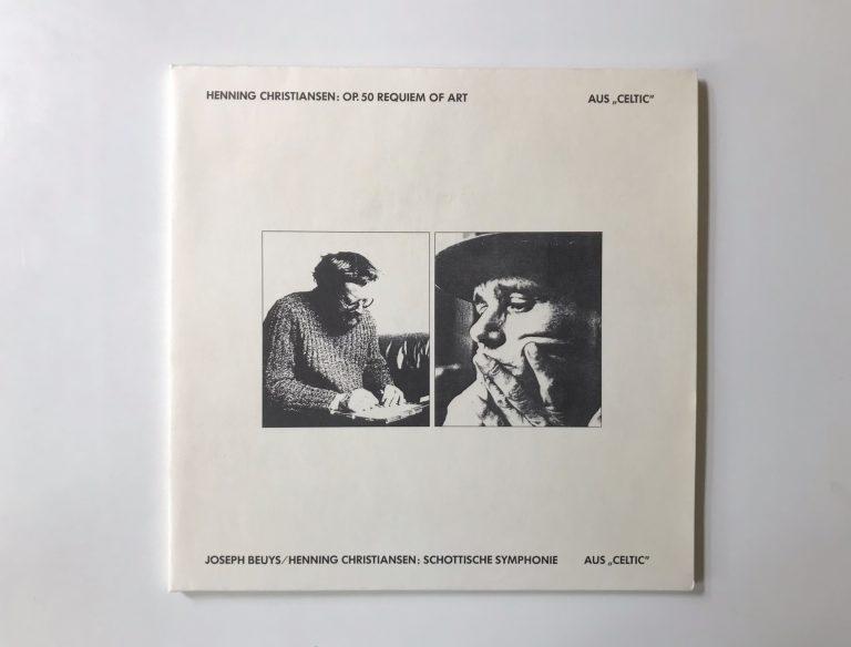 Joseph Beuys, Henning Christiansen, Schottische Symphonie aus Celtic, Schallplatte