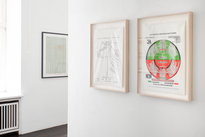 Joseph Beuys, So kann die Parteiendiktatur überwunden werden, 1971