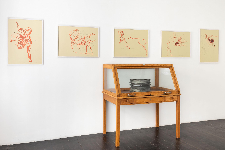 Joseph Beuys, Spur I, 1974 & Das Schweigen, 1973