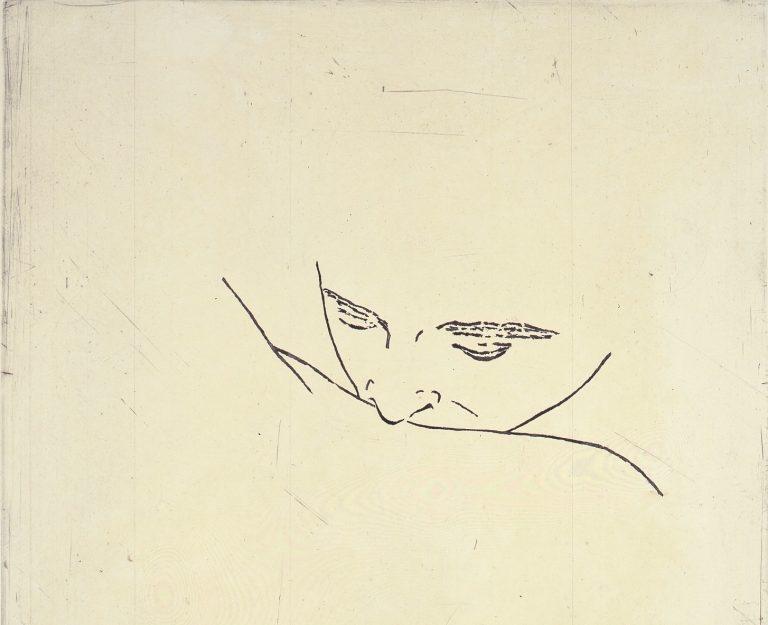 Julião Sarmento, Etching, Galerie Klüser