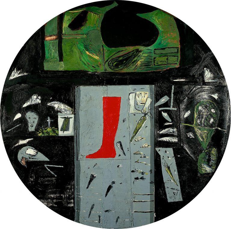 Mimmo Paladino, Gemälde, Collage