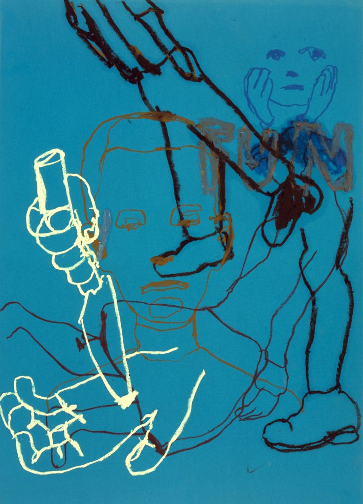 Ryan Mendoza, Kunstwerk, Papierarbeit