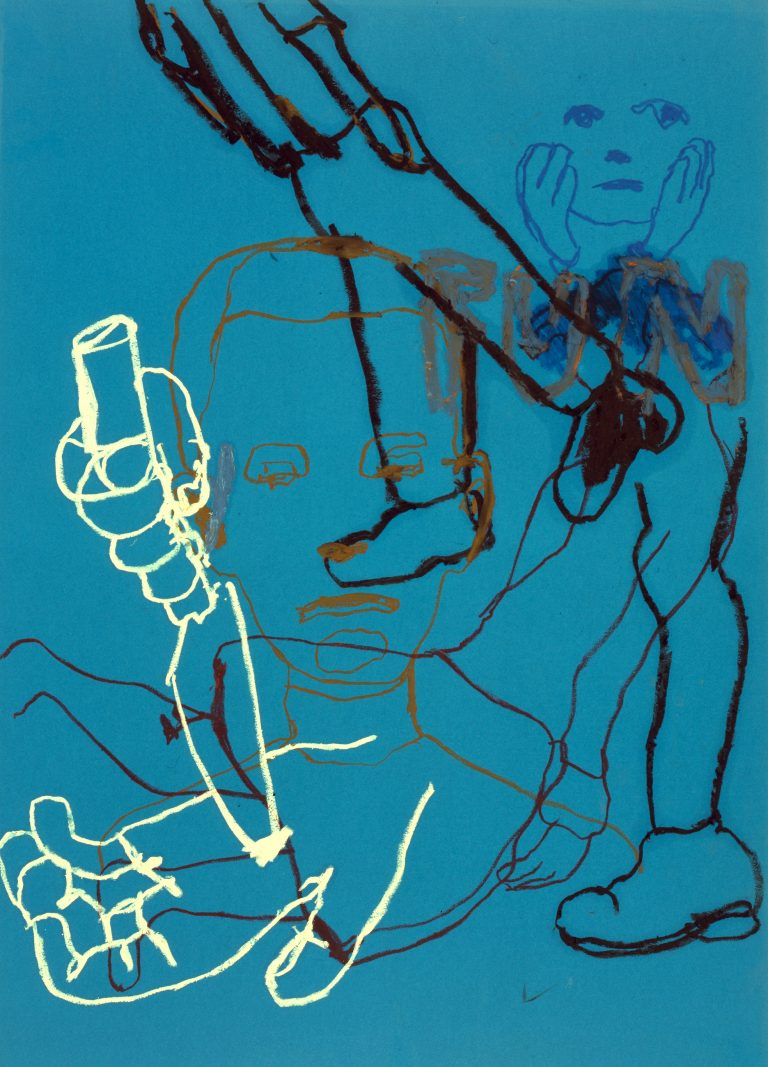 Ryan Mendoza, Artwork, work on paper