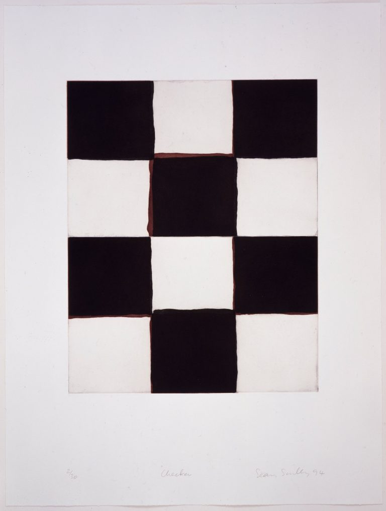 Sean Scully, print, etching