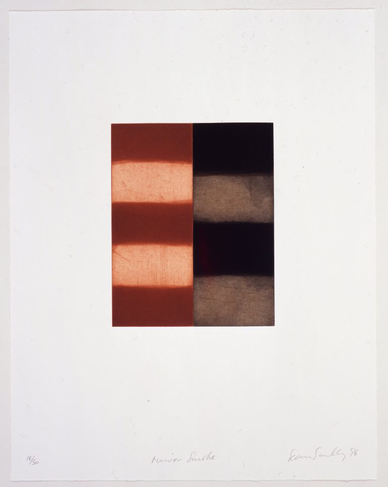 Sean Scully, print, edition, etching