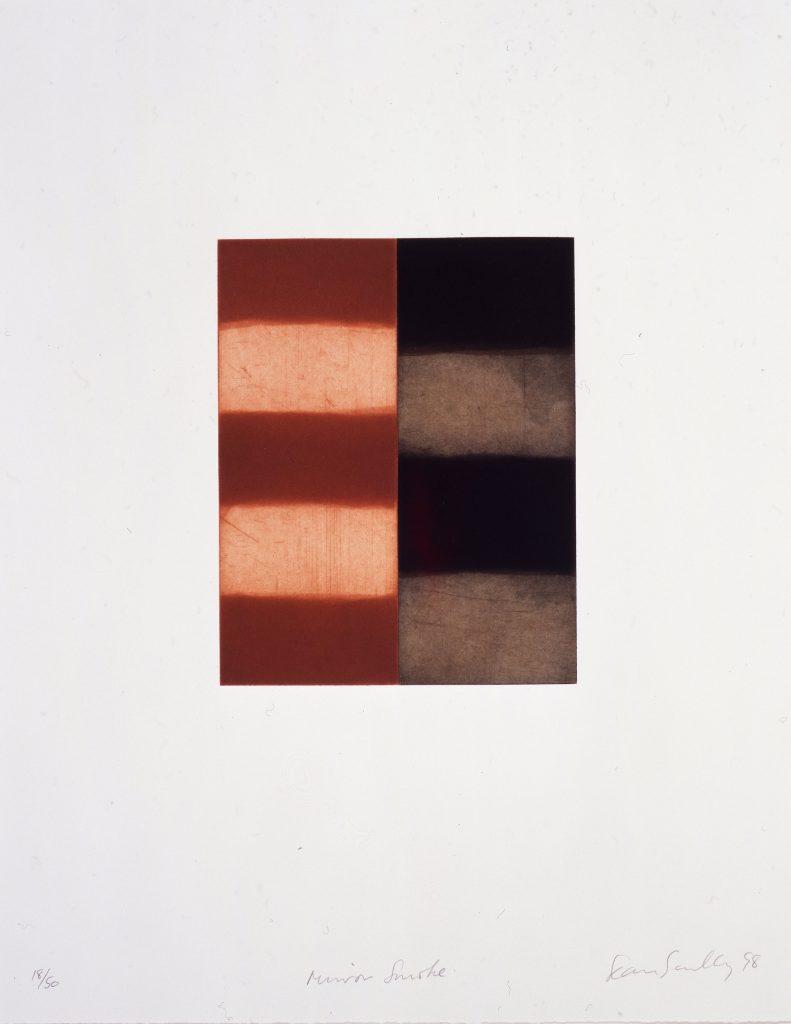 Sean Scully, Grafik, Edition. Radierung