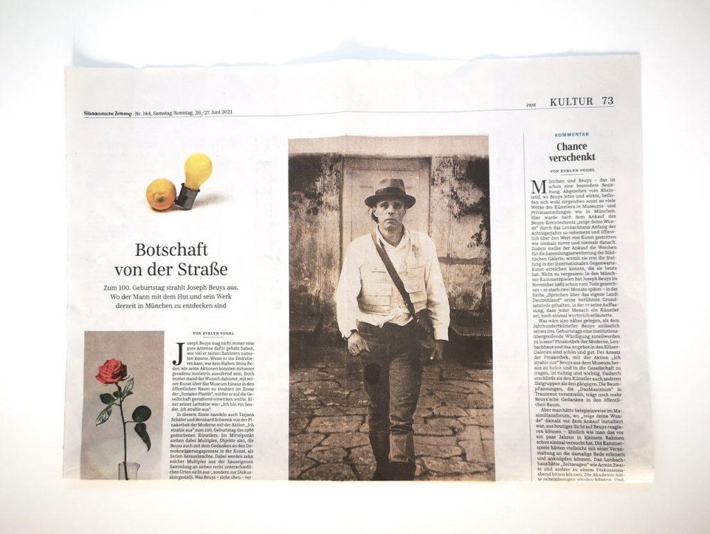 Joseph Beuys @ Süddeutsche Zeitung