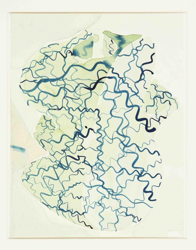 Tony Cragg, Aquarell, 2007, Papier