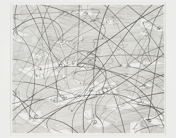 Tony Cragg, drawing, 2012