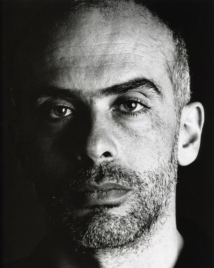 Greenfield-Sanders, Clemente Portrait, Fotokunst
