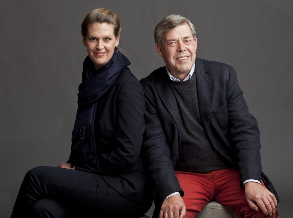 Julia & Bernd Klüser, Photo: Timothy Greenfield-Sanders