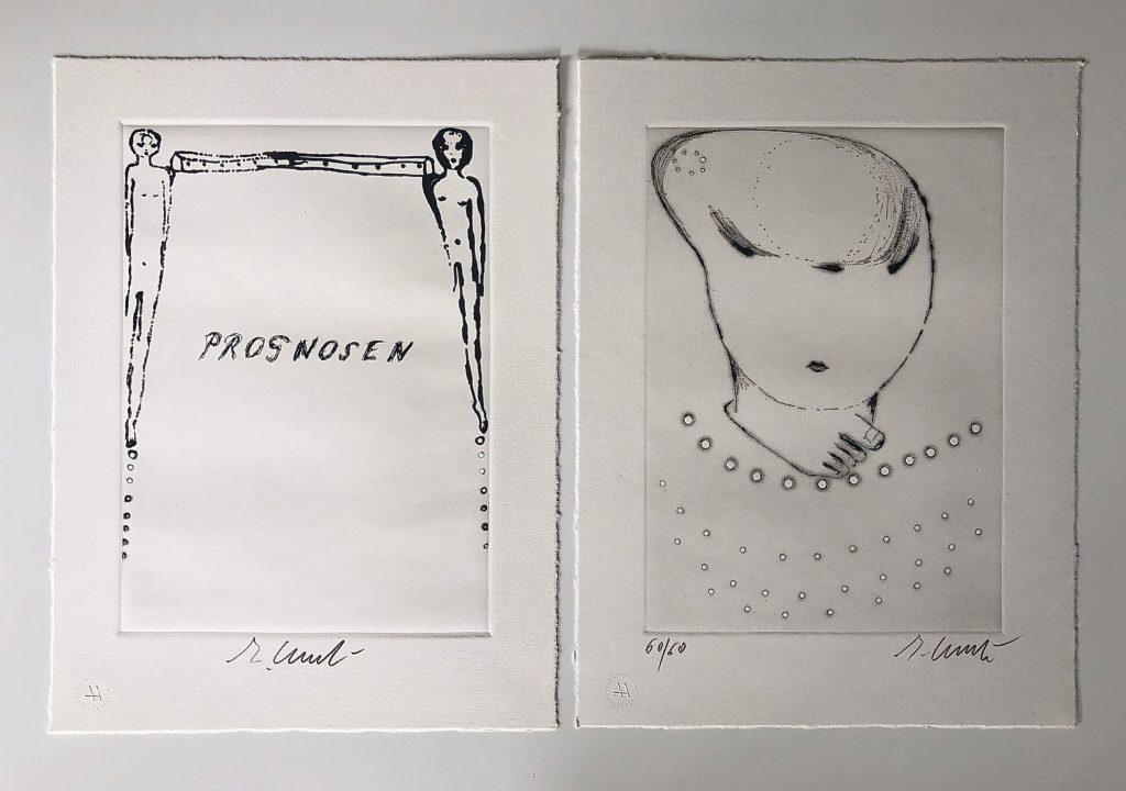 Ernst Jünger, Enzo Cucchi, Katalog, 1993