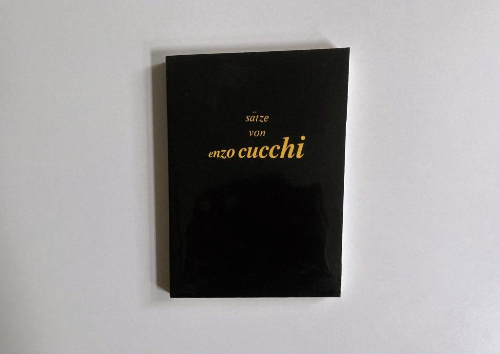 Enzo Cucchi, Buch, 1990