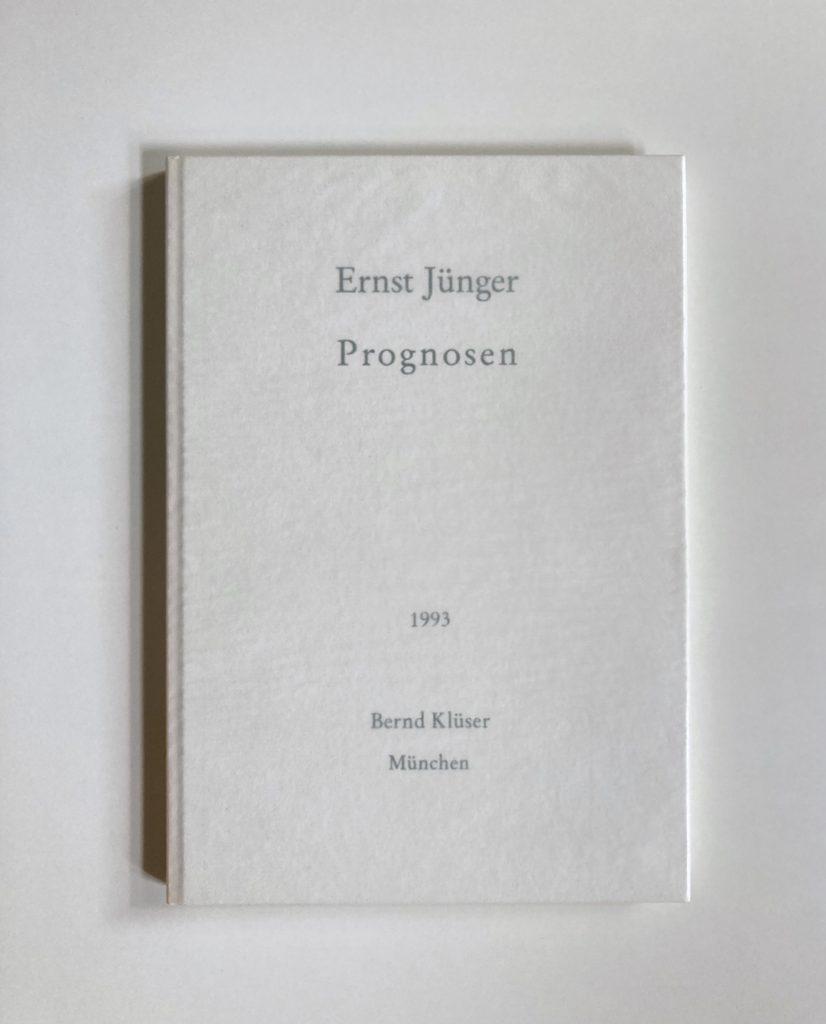 Ernst Jünger, Buch, 1993