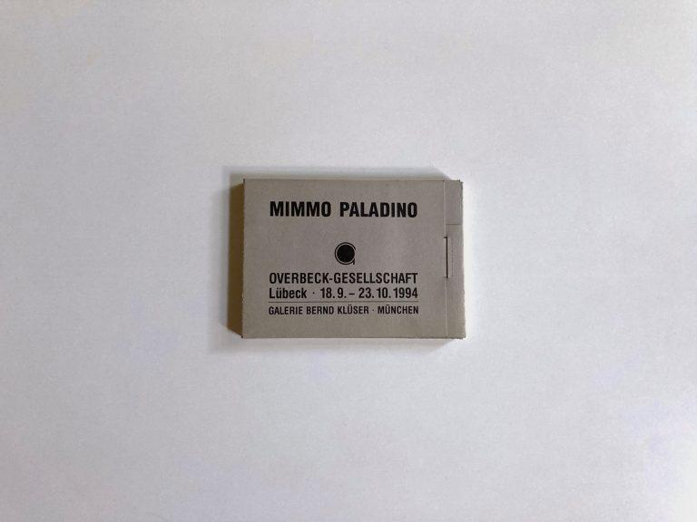 Mimmo Paladino, Postkarten, 1994